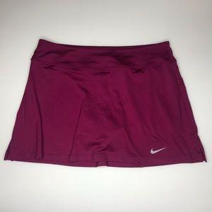 Maroon Nike Tennis or Run Skirt Tall